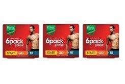 3 x Power Health 6 pack Extreme - Start, Go, Fit -  Αποτελεσματικό Αδυνάτισμα για όμορφο & καλοσχηματισμένο Ανδρικό Σώμα, 3 x (3 x 30 caps)