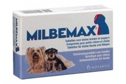 """Εικόνα του """"Premier Shukuroglou Milbemax Small Dog Συμπλήρωμα Διατροφής για Μικρούς Σκύλους, για τη Θεραπεία των Μικτών Μολύνσεων από ενήλικα Κεστώδη & Νηματώδη, 50 tabs"""""""