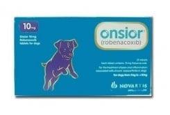 Premier Shukuroglou Onsior Dog 10mg Συμπλήρωμα για το Σκύλο, για την Αντιμετώπιση του Πόνου & της Φλεγμονής, 28 tabs