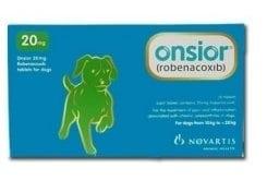 """Εικόνα του """"Premier Shukuroglou Onsior Dog 20mg Συμπλήρωμα για το Σκύλο, για την Αντιμετώπιση του Πόνου & της Φλεγμονής, 28 tabs"""""""