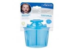 """Εικόνα του """"Dr. Brown's Milk Powder Dispenser AC 037 Δοχείο Μεταφοράς Γάλακτος Μπλε, 1 τμχ """""""