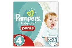 """Εικόνα του """"Pampers Baby Dry Pants Maxi No. 4 (8 - 15 Kg) Πάνα Βρακάκι, 23 τεμάχια """""""