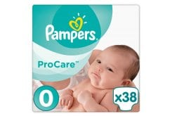 Pampers Procare Premium Protection No.0 (Micro) 1-2.5 kg Βρεφικές Πάνες, 38 τεμάχια