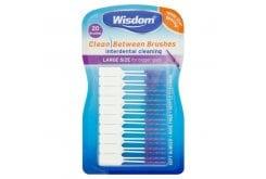Wisdom Clean Between Interdentals Brushes Μεσοδόντια Βουρτσάκια, 20 τεμάχια