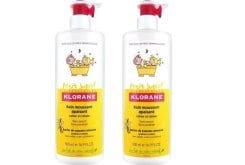 2 x Klorane Petit Junior Bain Moussant Apaisant Ενυδατικό Αφρόλουτρο, -50% ΤΟ ΔΕΥΤΕΡΟ ΠΡΟΪΟΝ, με Άρωμα Βανίλια - Μέλι,  2 x 500 ml