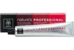 Apivita Nature's Professional PROMO -20% Μόνιμη βαφή μαλλιών για 100% κάλυψη, Απόχρωση 8,35 - Ξανθό Ανοιχτό Μελί Ακαζού, 50ml