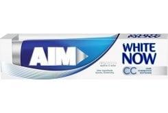 Aim Οδοντόκρεμα White Now CC Core Οδοντόκρεμα για διόρθωση του χρώματος & λευκά δόντια, 75ml