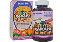 Nature's Plus Animal Parade Gummies Πολυβιταμίνη για Παιδιά, 75 μασ. ζωάκια