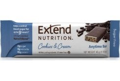 Extend Nutrition Cookies & Cream Διατροφική Μπάρα με Στέβια, 44g
