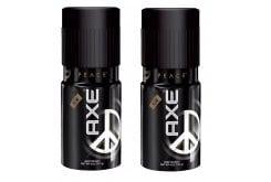 Axe Peace Body Spray (1+1 ΔΩΡΟ) Ανδρικό Αποσμητικό, με Εθιστική, Αρρενωπή Μυρωδιά, 2 x 150 ml