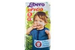 Libero UP & Go Πάνες Bρακάκι Νο 5 (10-14 kg), 42 τμχ