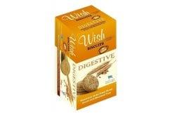 Wish Biscuits Digestive Μπισκότα ολικής άλεσης χωρίς ζάχαρη 220gr