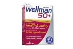 Vitabiotics Wellman 50+, 30 ταμπλέτες