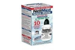 NeilMed Sinus Rinse Starter Kit Σύστημα Φυσικής Θεραπευτικής Ανακούφισης των Ρινικών Παθήσεων, 10 φάκελλοι