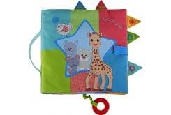 Sophie la Girafe Sensitive Book S230783 Σόφι Μεγάλο Βιβλίο που ξυπνά τις αισθήσεις, 1 τεμάχιο