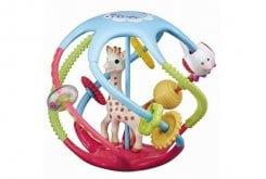 Sophie la Girafe Twistin Ball 230788 Διασκεδαστική Μπάλα με πολλαπλές δραστηριότητες, 1 τεμάχιο