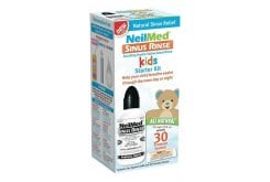 NeilMed Sinus Rinse Pediatric Starter Kit, 30 premixed packets & Bottle 120ml