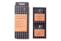 Apivita Apricot Face Scrub Express Beauty Gel Ήπιας Απολέπισης με βερύκοκo, 2 x 8ml