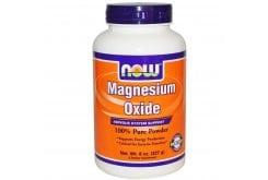 """Εικόνα του """"Now Magnesium Oxide Powder Συμπλήρωμα Οξειδίου του Μαγνησίου σε Σκόνη, 227gr """""""