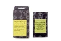 APIVITA Express Beauty, Υγρά μαντηλάκια καθαρισμού για Ντεμακιγιάζ πρόσωπου & ματιών με xαμομήλι, 1 φακελάκι των 5ml