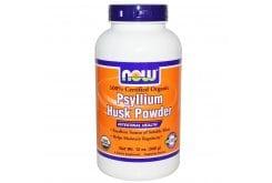 """Εικόνα του """"Now Psyllium Husk Powder Συμπλήρωμα Ψύλλιου σε Σκόνη, 340gr """""""