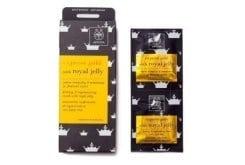APIVITA Express Gold Μάσκα Περιποίησης, Σύσφιγξης & Ανάπλασης με Βασιλικό Πολτό , 2 φακελάκια των 8ml