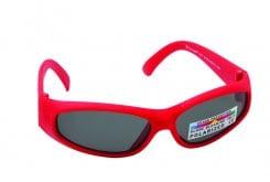 Vitorgan Eyelead Polarized Κ1009 Παιδικά / Βρεφικά Γυαλιά Ηλίου Καουτσούκ σε Χρώμα Κόκκινο απο 0-12 μηνών ,Συνοδεύεται από ειδική προστατευτική θήκη - πουγκί ,1τμχ