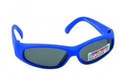 Vitorgan Eyelead Polarized Κ1011 Παιδικά / Βρεφικά Γυαλιά Ηλίου Καουτσούκ σε Χρώμα Μπλε απο 0-12 μηνών ,Συνοδεύεται από ειδική προστατευτική θήκη - πουγκί ,1τμχ
