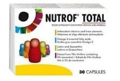 Thea Nutrof Total Συμπλήρωμα Διατροφής για την Καλή Λειτουργία της Όρασης, 30 caps