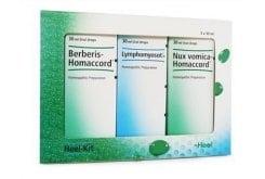 Heel Heel-Kit Σετ Συμπληρωμάτων Διατροφής από 3 Συνθετικά Σκευάσματα για την Αποτοξίνωση του Οργανισμού, 3 x 30ml