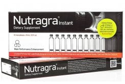 Now Nutragra Instant Συμπλήρωμα Διατροφής για τη Φυσική Αντιμετώπιση της Στυτικής Δυσλειτουργίας στους Άνδρες, 10amps x 10ml
