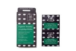 APIVITA Express Beauty Μάσκα Περιποίησης Ματιών με ginkgo biloba για κουρασμένα μάτια, μαύρους κύκλους & σακούλες προσώπου, 2 τεμάχια των 2ml