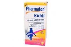 Sanofi Pharmaton Kiddi Syrup Πολυβιταμινούχο Σιρόπι για Παιδιά, με Γεύση Πορτοκάλι, 200ml