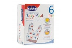 Chicco Easy Meal Disposable Bibs, 40 pcs