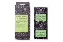 APIVITA Express Beauty Μάσκα Περιποίησης & Εντατικής ενυδάτωσης προσώπου με Αγγούρι,2 τεμάχια των 8ml
