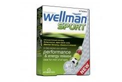 Vitabiotics Wellman Sport, 30tablets