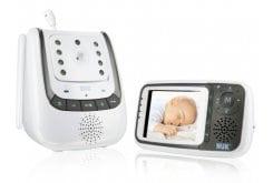"""Εικόνα του """"Nuk Eco Control+ Video Babyphone Ψηφιακή Συσκευή Ενδοεπικοινωνίας & Παρακολούθησης Βρέφους μέσω Βίντεο, 1 τεμάχιο """""""