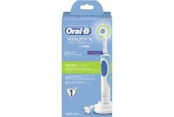 Oral B Vitality Pro Timer Cross Action 2D Ηλεκτρική Οδοντόβουρτσα, 1 τεμάχιο & 1 Κεφαλή Cross Action