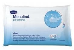 Hartmann Menalind Professional Protect Clean Υγρά Γάντια Λουτρού για Κλινήρεις Ασθενείς (995056), 8 τεμάχια