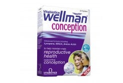 Vitabiotics Wellman Conception, 30 tablets