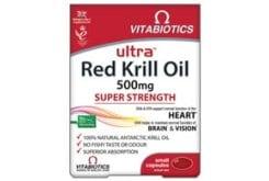 Vitabiotics Ultra Red Krill Oil 500mg, 30 caps