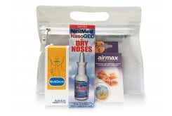 Getremed Νεσεσέρ Ύπνου κατά του Ροχαλητού με Nasogel Spray για τη Ρινική Ξηρότητα, 30ml, Airmax Ρινικός Διαστολέας Medium, 2 τεμάχια & Medisnore Στοματικό Σπρέι, 50ml