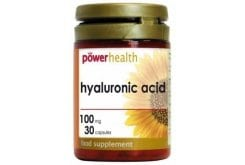 Power Health Hyaluronic Acid 100mg Υαλουρονικό οξύ, 30caps