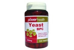 "Εικόνα του ""Power Health Yeast BPC 500mg, 120 tabs """