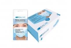 Real Care Μάσκες Προσώπου για Ιατρικές & Λοιπές Χρήσεις, 2 τεμάχια
