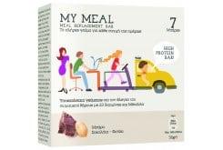 Power Health My Meal Μπάρα Υποκατάστατο Γεύματος Σοκολάτα Φιστίκι, 7 x 56gr