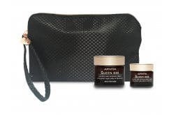 Apivita Queen Bee PROMO with Holistic Age Defense Cream Rich Texture, 50ml & GIFT Holistic Age Defense Night Cream, 15ml in practical beauty bag
