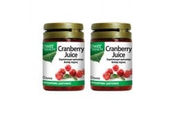 2 x Power Health Cranberry Juice 4500 mg Για την προστασία του ουροποιητικού, 2 x 30 tabs