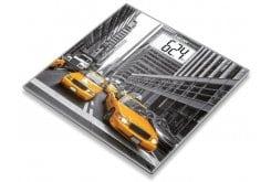 """Εικόνα του """"Beurer GS 203 New York Γυάλινη Απλή Ψηφιακή Ζυγαριά με Παράσταση από τη Νέα Υόρκη, 1 τεμάχιο """""""