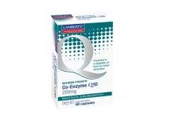 Lamberts Co-Enzyme Q10 200mg, 60 caps